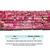 Natural Tube Hot Pink Imperial Sediment Jasper Healing Gemstone Loose Beads