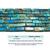 Natural Tube Sky Blue Imperial Sediment Jasper Healing Gemstone Loose Beads