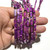Natural Purple Imperial Stone Sediment Jasper Healing Gemstone Loose Beads