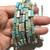 Natural Sky Blue Imperial Stone Sediment Jasper Healing Gemstone Loose Beads