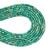Natural Round Tube Green Imperial Sediment Jasper Healing Gemstone Loose Bead