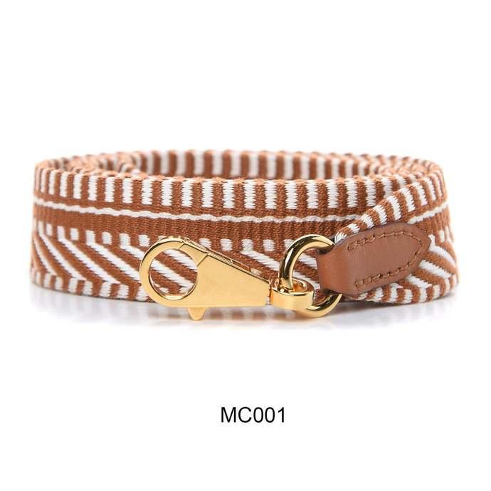 "1"" Bandouliere Sangles Caval shoulder strap for Same Kelly and Bolide Bag 2.5cm"