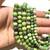 Natural Round Australian Jade Healing and Energy Gemstone Loose Beads Bracelet