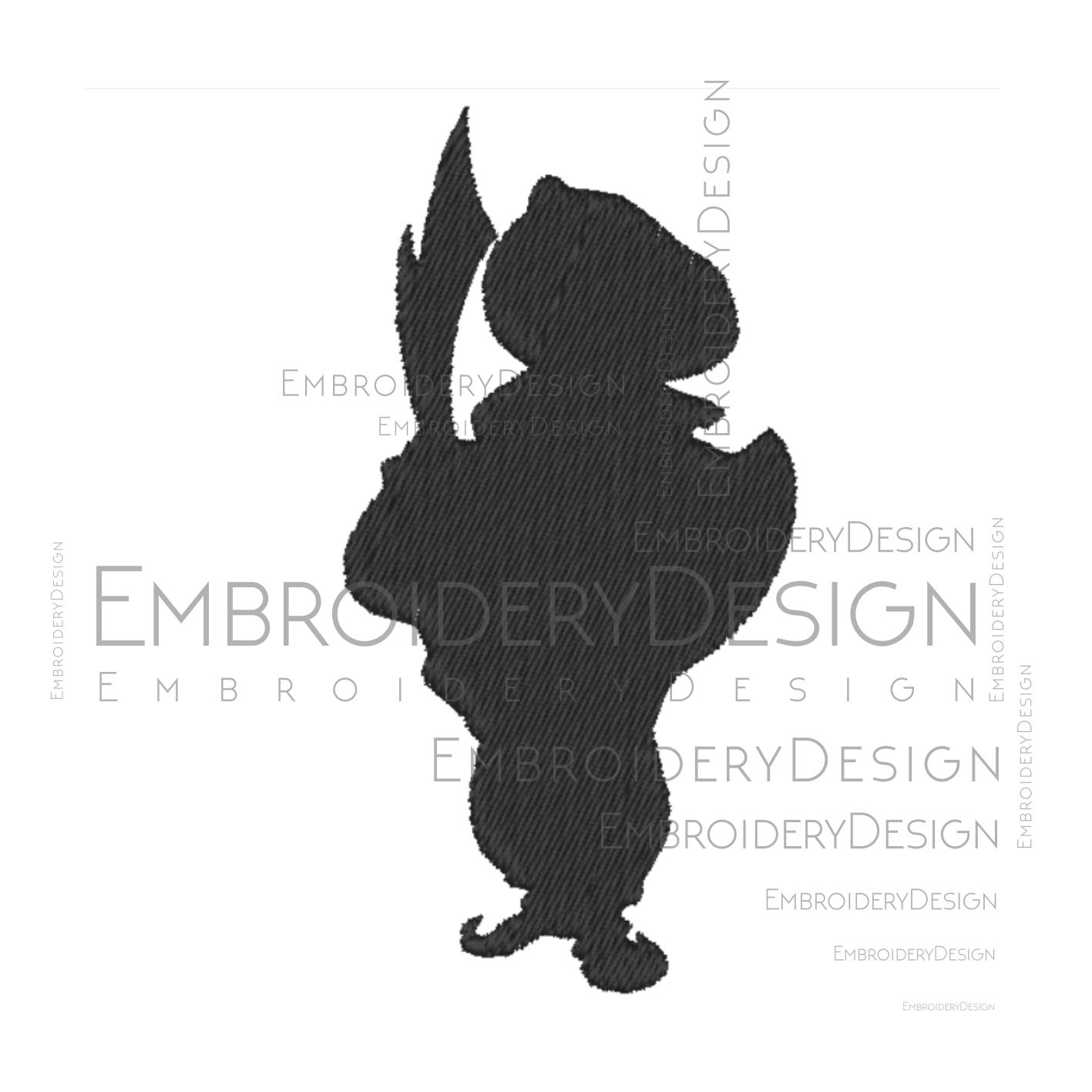 Aladdin Razoul V1 Disney Embroidery Machine By Vectordesign On Zibbet