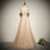 Beautiful Sweetheart Straps Long Party Dresss, A-line Sequins Bridesmaid Dresss