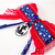 Smooth Sailing Cat Bow Tie, Elastic, Removable, Americana, Holidays