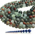 Natural Round Blood Stone Healing and Energy Gemstone Loose Beads Bracelet
