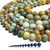 Natural Round Crazy Lace Agate Healing and Energy Gemstone Loose Beads Bracelet