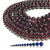 Natural Round Red Garnet Jasper Healing Energy Gemstone Loose Beads Bracelet