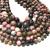 Natural Round Rhodnite Jasper Stone Healing Energy Gemstone Loose Beads Bracelet