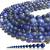 Natural Round Blue Sodalite Jasper Healing Energy Gemstone Loose Beads Bracelet