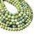 Natural Round Green Tea Tree Jasper Healing Energy Gemstone Loose Beads Bracelet