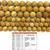 Natural Round Mookiate Jasper Stone Healing Energy Gemstone Loose Beads Bracelet