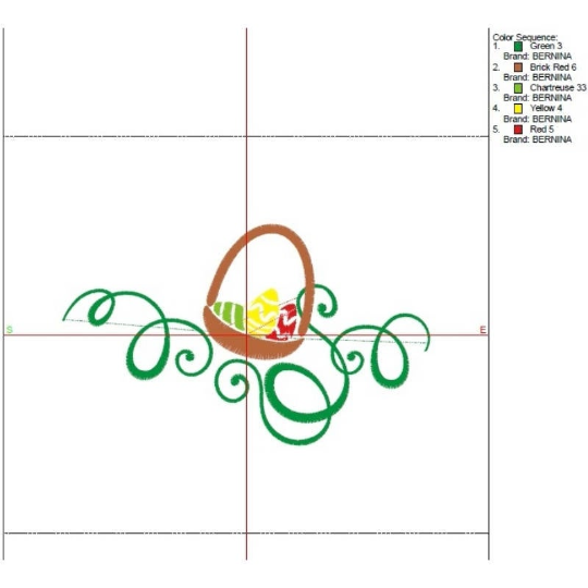 Easter embroidery Machine Design Pes Instant Digital Pattern
