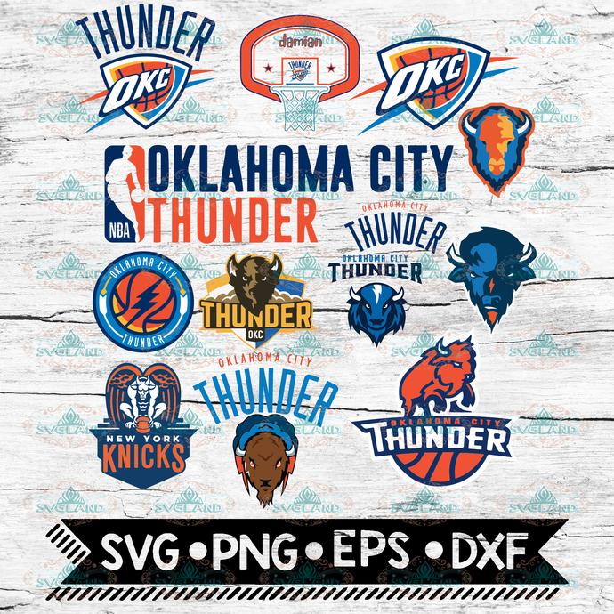 Oklahoma City Thunder svg, Sports svg, basketball svg, basketball team svg,