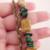 Handmade Stone and Copper Double Strand Bracelet