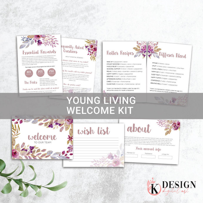 Young Living Member Welcome Kit , Young Living Starter Kit Welcome YL52
