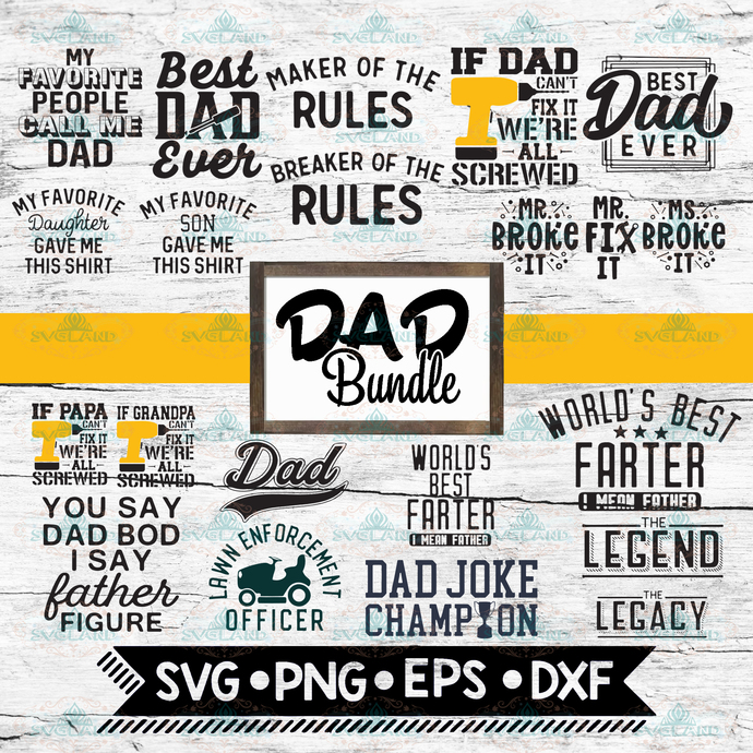Bundle 20 file father's day svg, daddy svg, papa svg, father svg, gift for