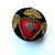 Tape Measure  Gothic Heart Small Retrctable Measuring Tape
