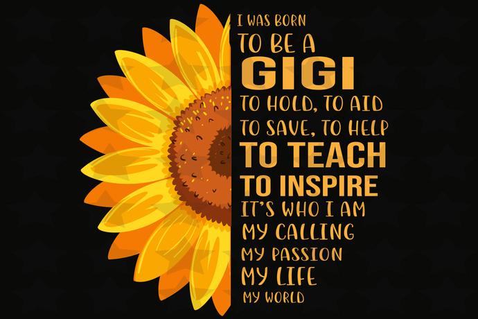 I was born to be a gigi,gigi svg, gigi gift, gigi life, gigi witch svg, gigi