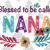 Blessed to be called nana, nana svg, nana gift, nana life, family svg , family