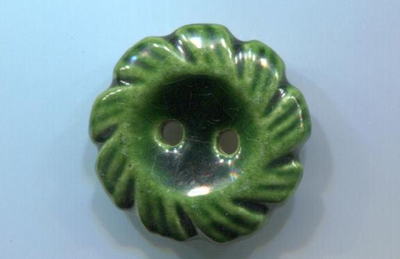1940s Emanuel  Dethier Ceramic Button #2