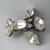 Interesting Shaped Vintage Rhinestone Button