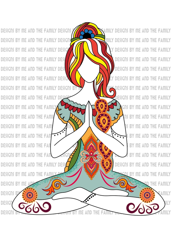 Yoga Girl, The soul of a witch, the fire of a lioness, the heart of a hippie,