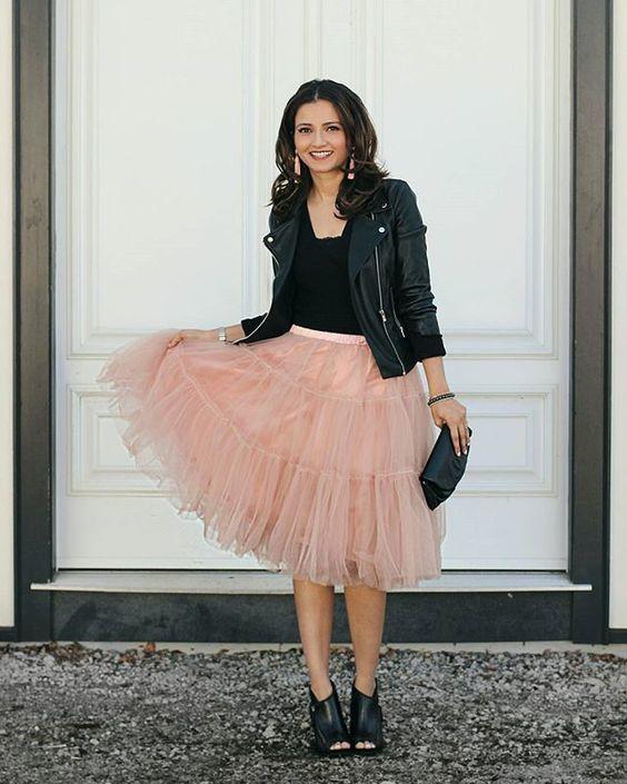 Newest  Skirt, Street Style Skirt,A-Line Skirt,Spring Autumn Skirt ,Gray Skirt