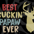 Best buckin' papaw ever, father svg, fathers day gift, gift for papa, fathers