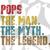 Pops the man the myth the lengend, pop svg, pop gift, pop shirt,  father svg,