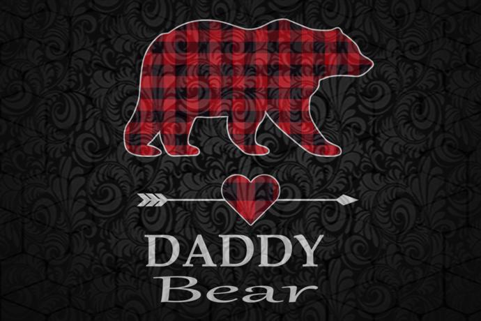 Daddy bear, daddy bear svg, daddy gift, daddy shirt, gift for daddy, best daddy