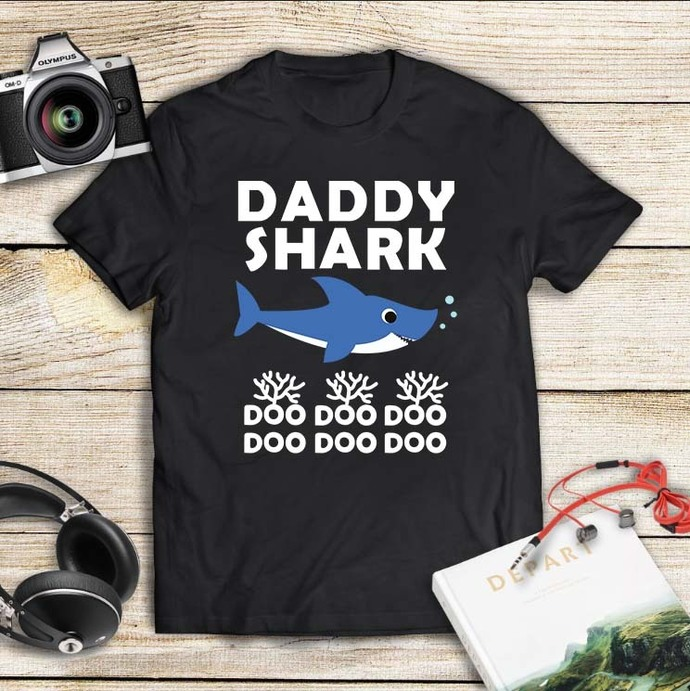 Daddy shark doo doo doo, daddy shark doo svg, daddy shark svg, daddy svg, daddy