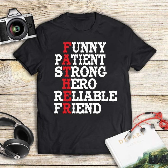 Funny patient strong hero reliable friend, father's day,fathers day gift, gift
