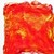 Hand Acid Dyed Silk Hankies - Mawata – approximately 10 grams 100% Silk  SHM13