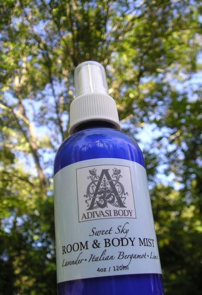 Sweet Sky Room Body Mist - Natural Aromatherapy by Adivasi Body