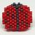 Ladybug Pin - Shiny Red