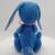 Hand Sewn Felt Bunny - blue