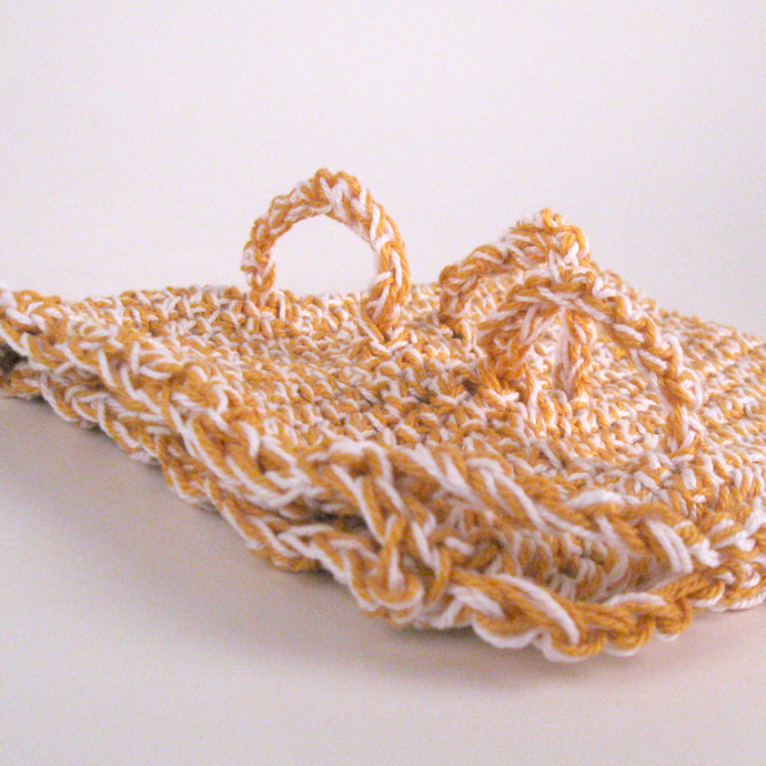 Goldenrod Adaptive Soap Saver with Finger Loops