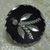 Bright Cut Pewter Button with Maroon Tint #8
