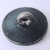 Bright Cut Pewter Button with Pewter Escutcheon #14