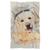 Custom Photo Blanket Personalized in Watercolor and Sketch Technic, Custom