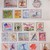 London Gifties watercolour tape - Watercolour Stamps - 4 cm wide Japanese washi