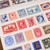 London Gifties watercolour tape - Postage Stamps - 3 cm wide Japanese washi tape