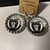 Las Vegas raiders earrings
