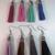 Handmade Suede Tassel Earrings