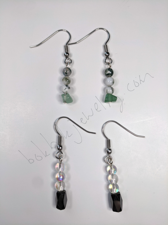 Dainty Handmade Beaded Earrings