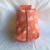 Fully Lined Coral Dandelion Travel Bag