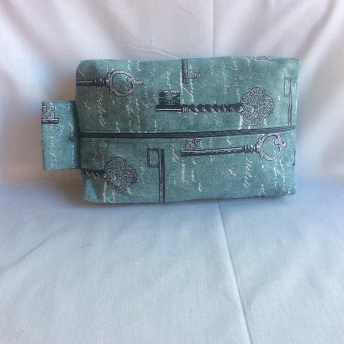 Fully Lined Key Travel Bag