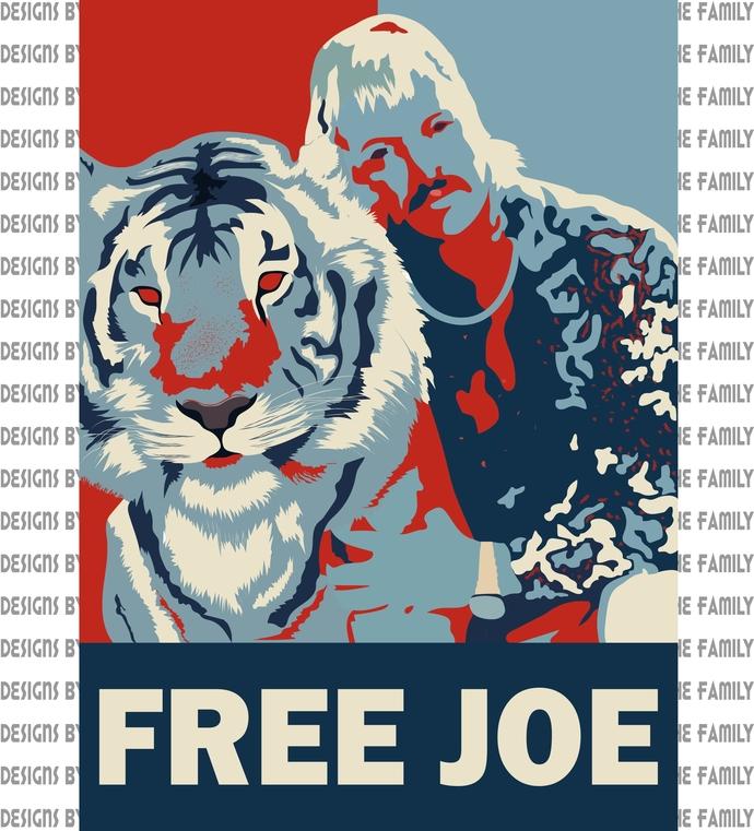 Free Joe, Make America Exotic again, 2020 Exotic for President, she fed her